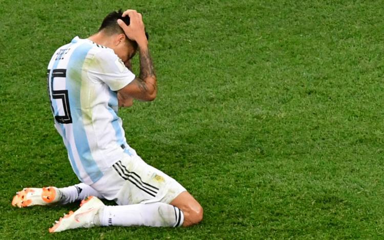 Enzo Perez gây thất vọng lớn trong trận thua trước Croatia. Ảnh: Goal.com.