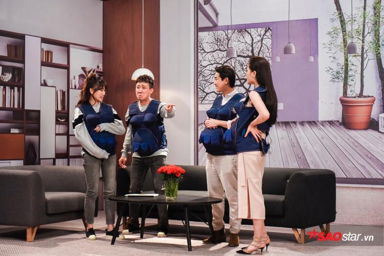 Vợ chồng Hứa Vĩ Văn - Kỳ Duyên khiến gia đình Việt Hàn tức điên.