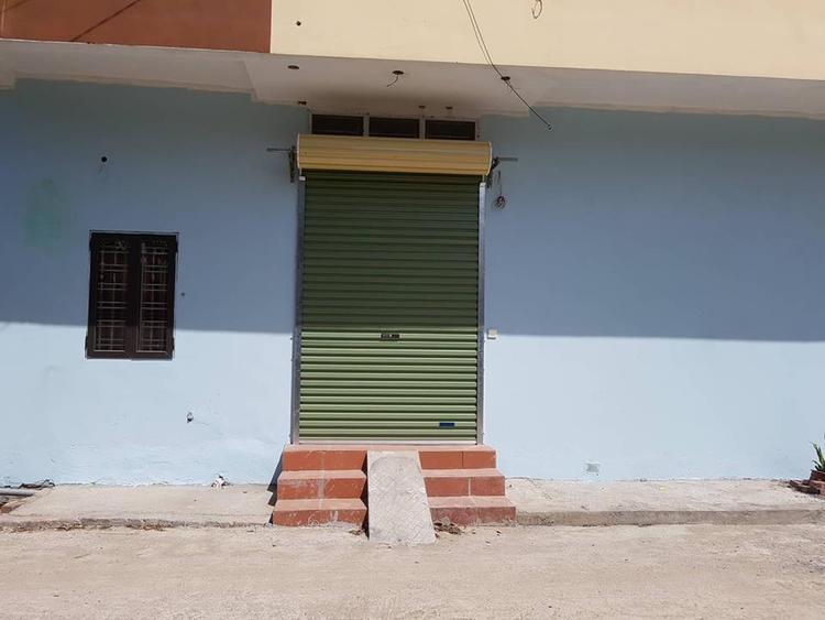 Ngôi nhà xảy ra vụ việc, chủ cơ sở đã bỏ đi.