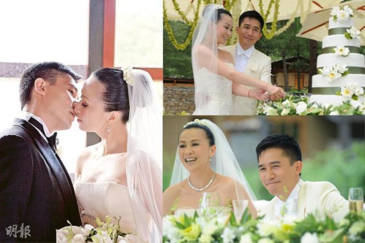 Đám cưới hoành tráng này tiêu tốn đến 30 triệu USD Hong Kong (khoảng 80 tỷ đồng). Lưu Gia Linh cũng vô cùng hạnh phúc khi được người bạn đời trao cho chiếc nhẫn cưới hiệu Cartier với viên kim cương 12 carat có giá lên đến hơn 25 tỷ đồng.