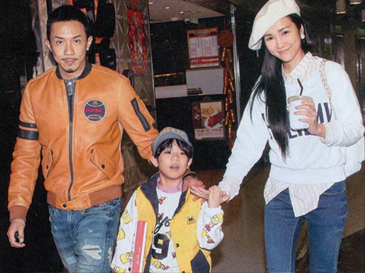 Trương Kế Thông, Tạ An Kỳ và con trai Trương Thiêm