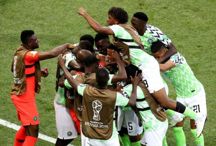 Nigeria đang là đội chiếm ưu thế. Ảnh: Getty.