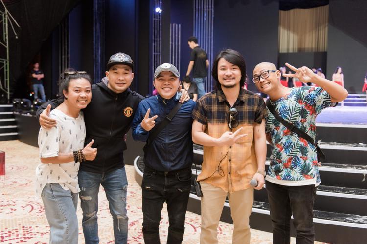 Nhóm MTV cũng có mặt tại Chung khảo phía Nam Hoa hậu Việt Nam 2018.