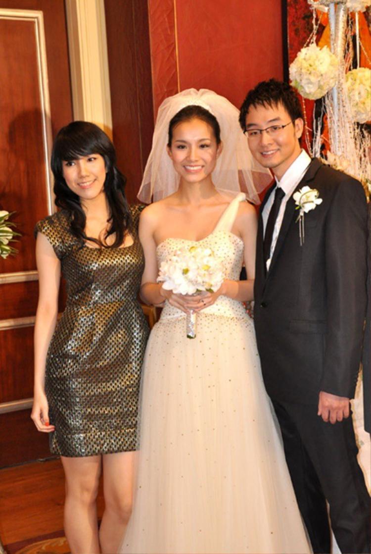 Thùy Linh trong đám cưới Thùy Lâm.