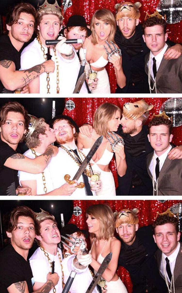 """Dù tan rã đã lâu, nhưng mối quan hệ giữa các thành viên nhóm vẫn khá """"mặn nồng"""" với Taylor Swift."""