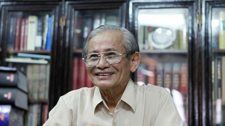 GS Phan Huy Lê, nguyên Chủ tịch Hội Khoa học Lịch sử Việt NamẢNH: NGÔ VƯƠNG ANH