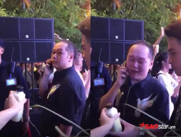 Hình ảnh cực dễ thương khiến người xem không khỏi thích thú và thêm yêu mến cộng đồng fan Noo Phước Thịnh.