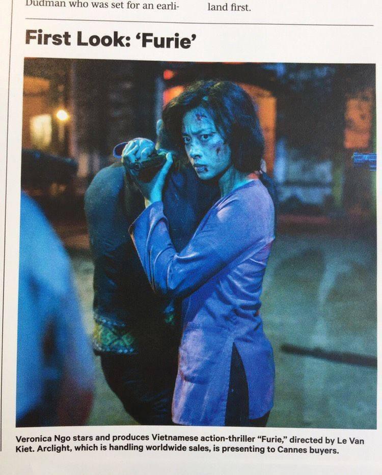 Một số hình ảnh của Ngô Thanh Vân trong bộ phim.