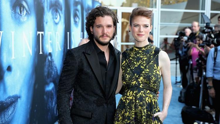 Chia lìa trên màn ảnh, Jon Snow và Ygritte của 'Game Of Thrones' kết hôn viên mãn ngoài đời