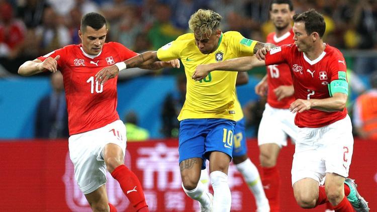 Cuộc xô xát diễn ra trong thời gian diễn ra trận đấu giữa đội tuyểnBrazil và Thụy Sĩ.