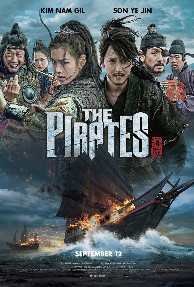 """Phim """"Hải tặc"""" của Kim Nam Gil và """"tình đầu"""" Son Ye Jin."""