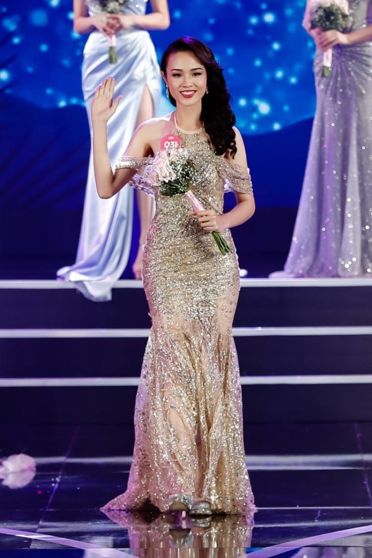 Thủy Tiên được xem là một ứng cử viên sáng giá tại cuộc thi hoa hậu năm nay.