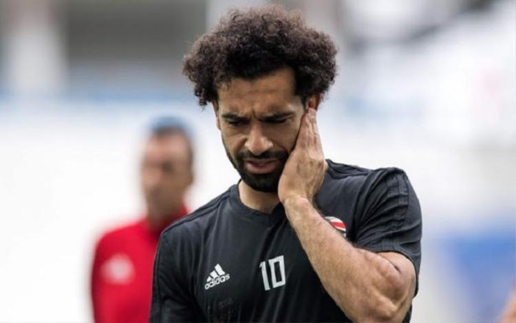Mohamed cân nhắc từ giã đội tuyển quốc gia Ai Cập. Ảnh: AFP.