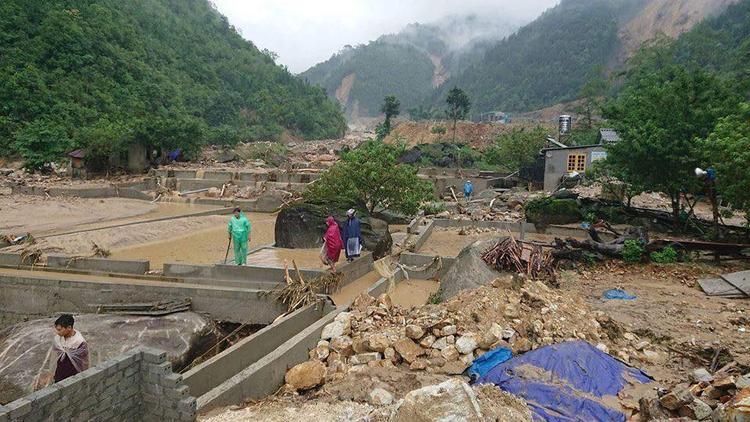 Lai Châu ước tính thiệt hại 50-60 tỷ đồng.