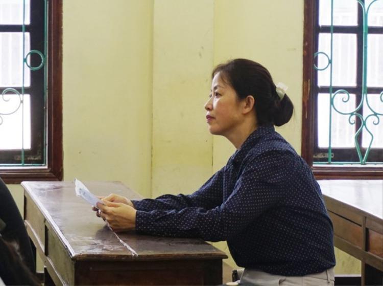 Chị Vân là thí sinh lớn tuổi nhất ở Nghệ An