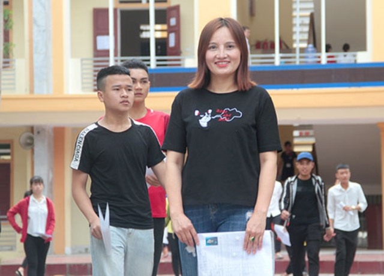 Chị Minh từng được đề cử vị trí Chủ tịch xã (ảnh Đức Hùng)