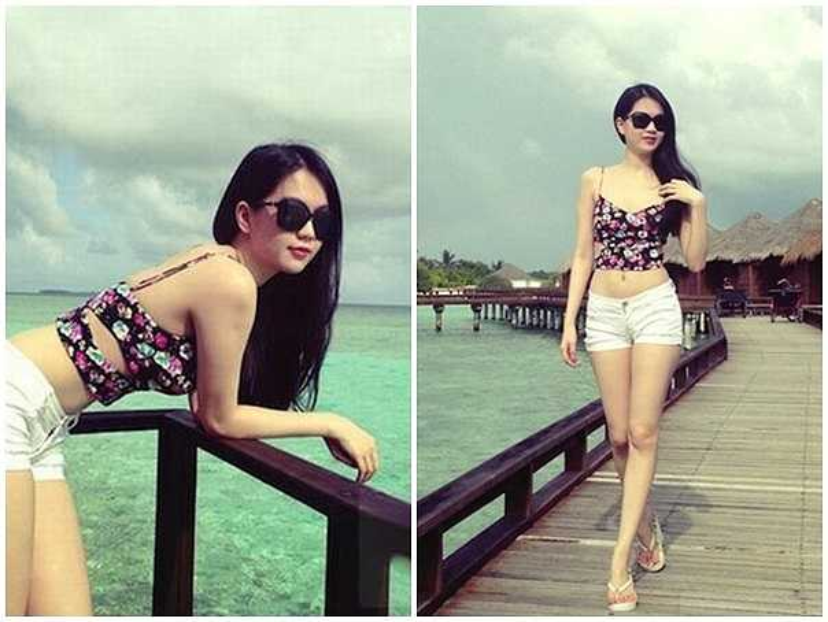 Ngọc Trinh mách nước cho các nàng diện bikini đi biển siêu quyến rũ