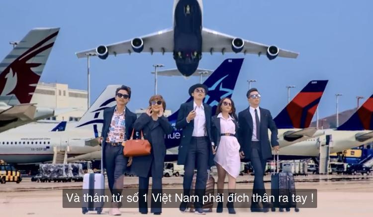 Biệt đội thám tử số 1 Việt Nam xuất hiện.