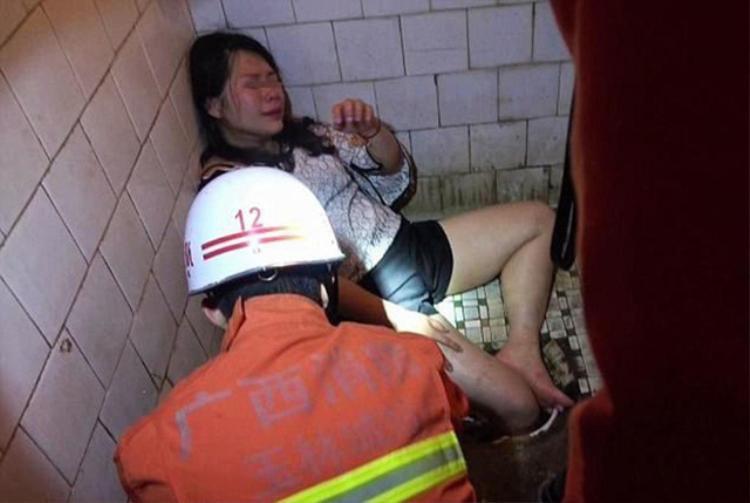 Nạn nhân vẫn còn say rượu trong suốt quá trình giải cứu