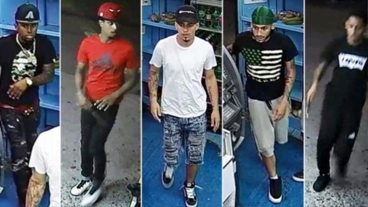 5 nghi phạm sát hạiLesandro.
