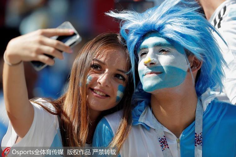 Dàn cổ động viên của Lionel Messi nói riêng và Argentina nói chung