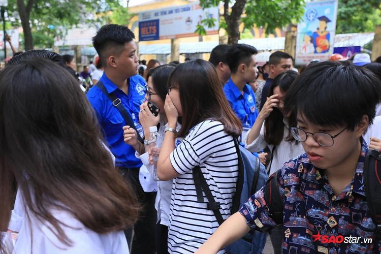 Khung cảnh tại THPT Việt Đức.