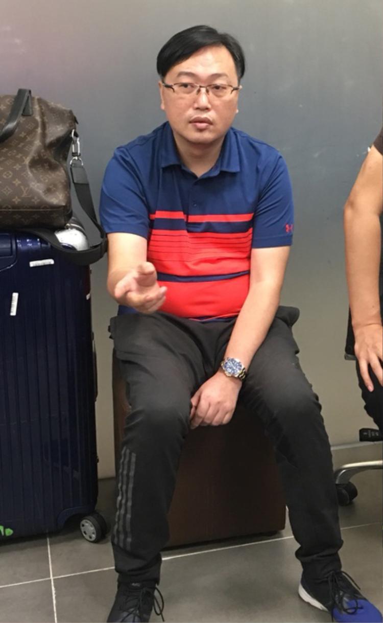 Đối tượng người Trung Quốc trốn truy nã bị bắt tại sân bay Đà Nẵng.