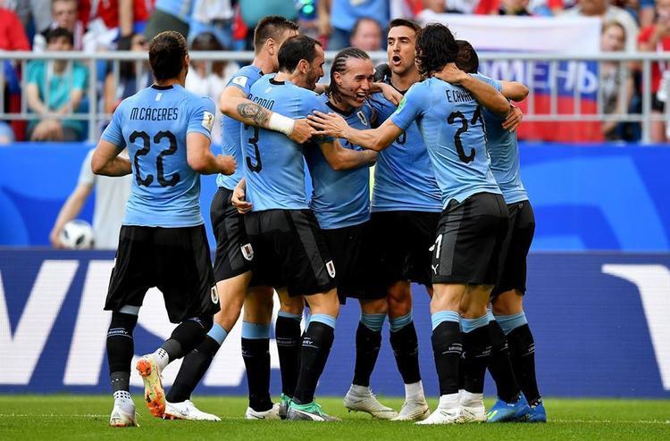 Uruguay cho thất sức mạnh đáng sợ. Ảnh: FIFA