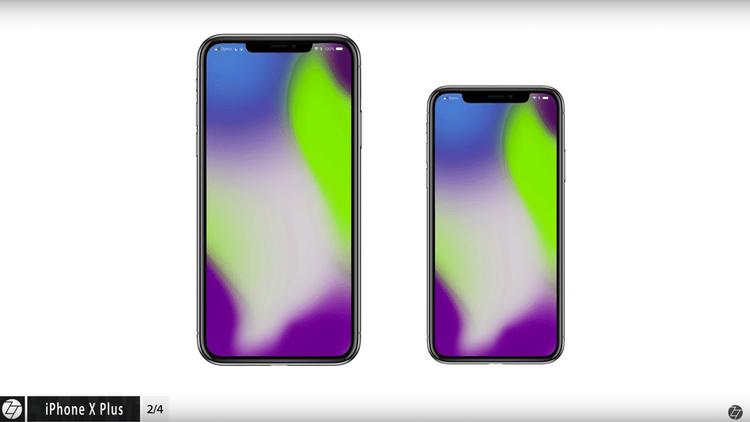 """Tất cả những chiếc iPhone mà Apple trình làng trong năm 2018 nhiều khả năng đều sẽ có thiết kế tương tự iPhone, tức là có điểm nhấn đến từ viền màn hình siêu mỏng cùng phần """"tai thỏ""""."""