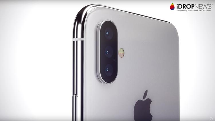 Một số kì vọng còn cho rằng iPhone năm nay sẽ có ba camera ở mặt lưng. Trước đó, Huawei P20 Pro là thiết bị thương mại đầu tiên hiện thực hoá ý tưởng này.