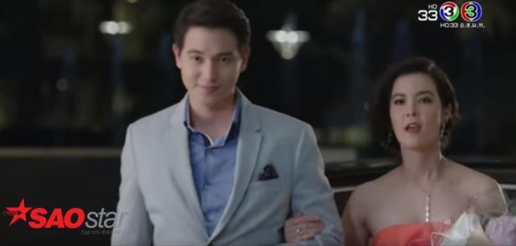 Tập 1 'Trò chơi tình ái': Mới 20 phút đầu, Taew Natapohn đã đè James Jirayu ra hôn đánh ghen