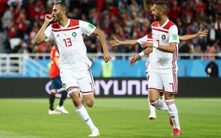 Morocco mở tỉ số từ rất sớm. Ảnh: Fifa.com.