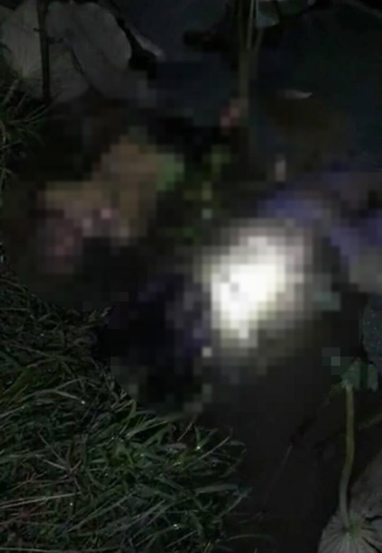 Hình ảnh được cho là có người tử vong. Ảnh cắt từ clip