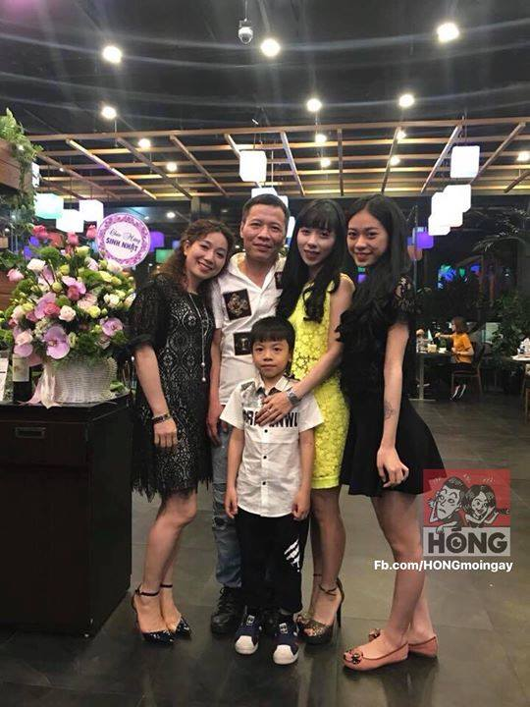 Gia đình Linh Anh (Nguồn: Hóng)