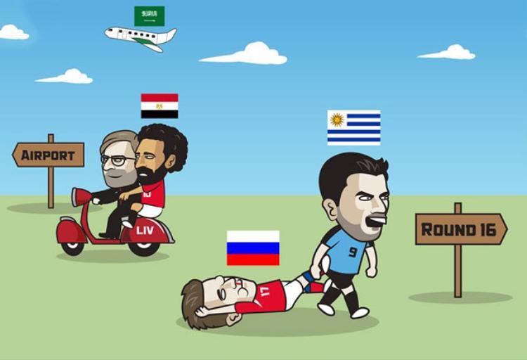 Tổng kết bảng A, World Cup 2018.