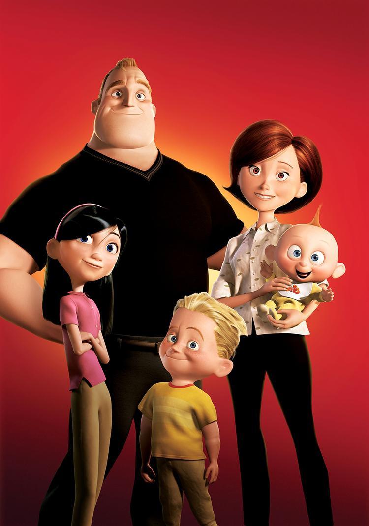 Violet, Dash và Jack-Jack là những trường hợp siêu anh hùng trẻ tuổi khác nhau dù là anh chị em ruột.