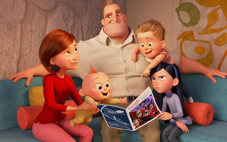 The Incredibles 2 vẫn ưu tiên lồng ghép thông điệp nhân văn về tình cảm gia đình ấm áp.
