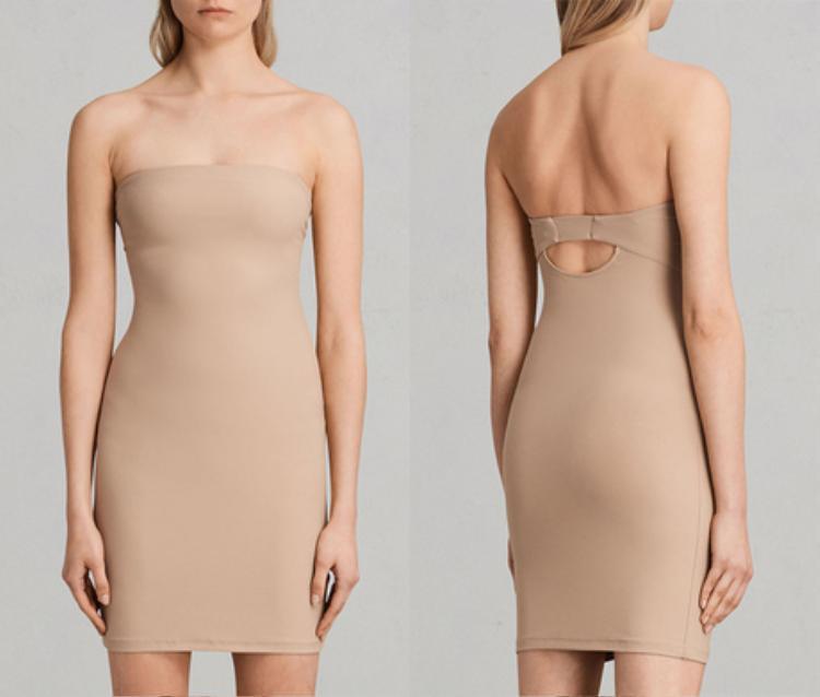 Nếu phải diện các thiết kế váy đuôi cá ôm sát, không gì hợp hơn mẫu nội y dạng váy ngắn này.