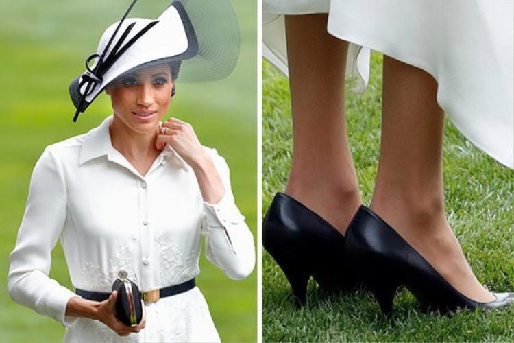 Đừng vội cười khi thấy công nương Meghan Markle mang giày rộng, đây chính là lý do ai cũng nên học theo!