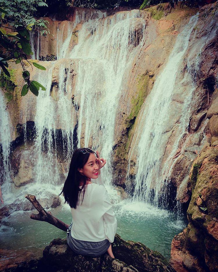 Nằm ở thị trấn Nam Ban, thác Voi chính là một trong những địa điểm gắn liền với truyền thuyết xưa cho người K'ho. @yuubbi
