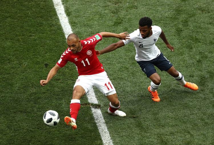 Pháp và Đan Mạch chơi đầy nhàm chán. Ảnh: FIFA