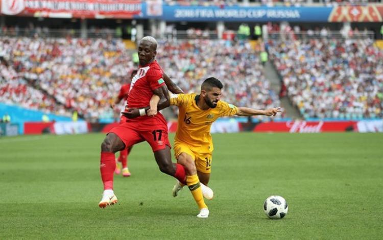 ĐT Peru rời giải trong tư thế ngẩng cao đầu. Ảnh: Fifa.com.