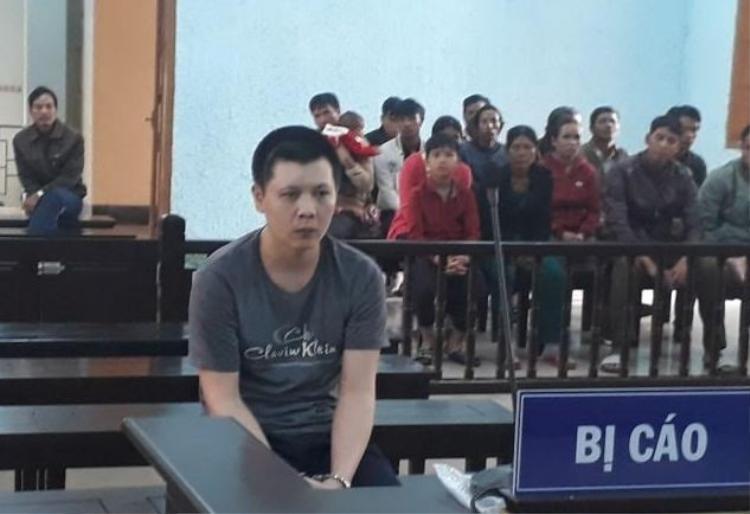 Bị cáo Cao Minh Thành trước phiên xét xử
