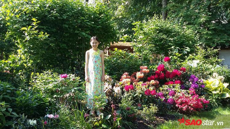 Tiếp tục giới thiệu những khu vườn của người Việt ở nước ngoài, hôm nay phóng viên Saostar sẽ đến thăm khu vườn của chị Hoàng Trang.