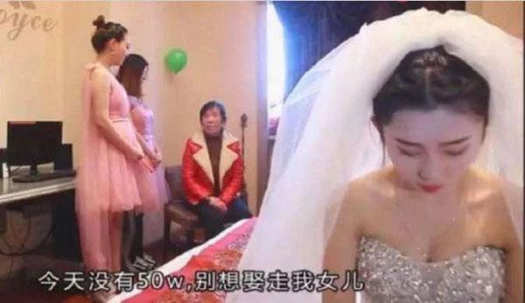 Gia đình cô dâu đòi chú rể đưa thêm 1,7 tỷ đồng ngay trước giờ đón dâu.