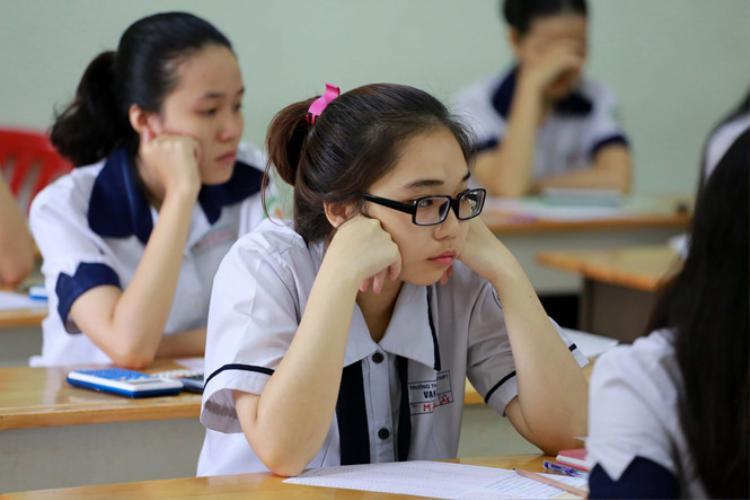 Năm nay, phần lớn các thí sinh đều khó làm tốt trọn vẹn đề thi THPT quốc gia ẢNH: NGỌC DƯƠNG