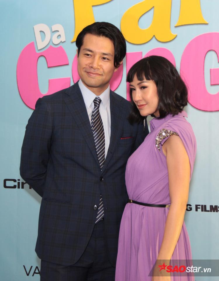 Đạo diễn Ken Ochiai và Kathy Uyên.