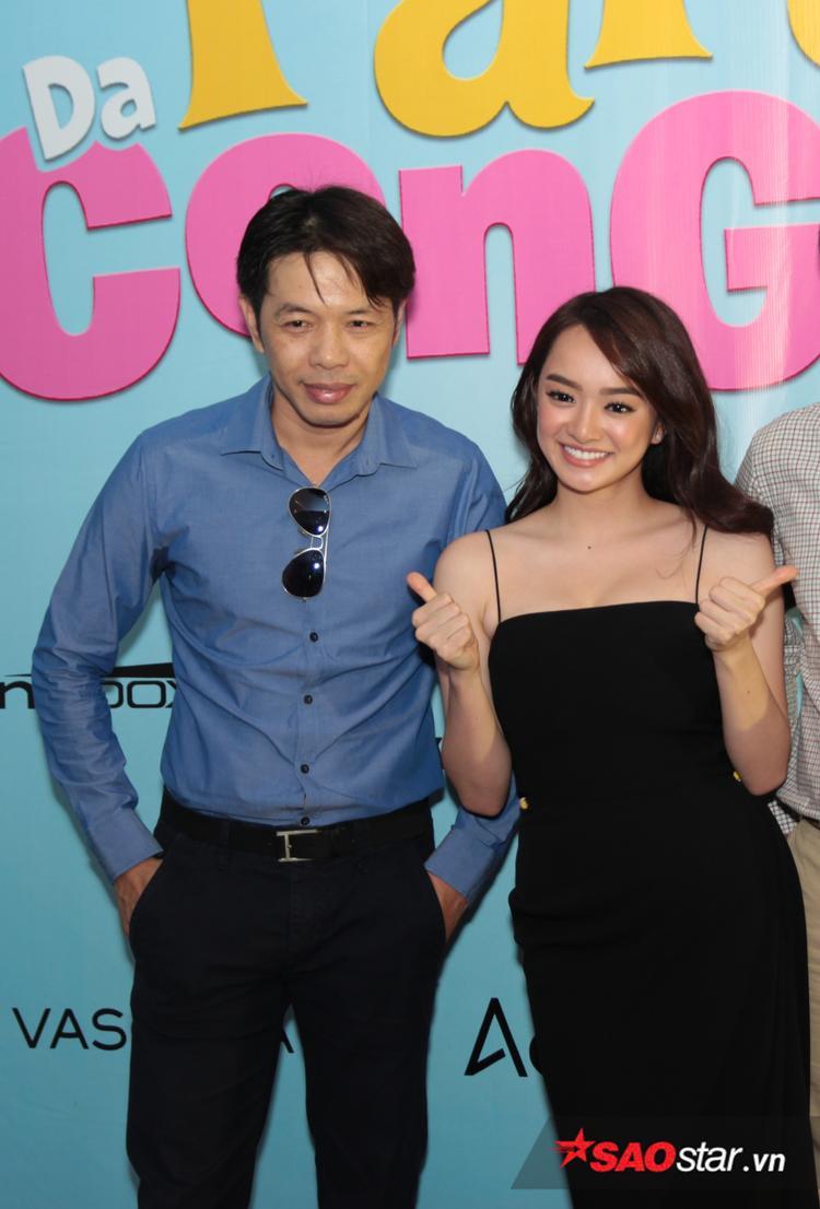 Thái Hòa và Kaity Nguyễn trở thành cha con.