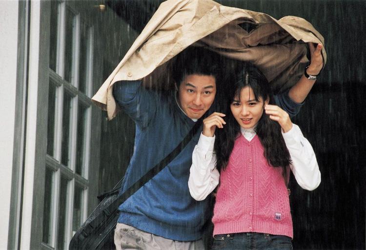 """Cảnh chạy dưới mưa của nữ ngôi sao 36 tuổi và bạn diễn Jo In Sung thường được """"remake"""" qua các show truyền hình thực tế, hay một số tác phẩm khác."""