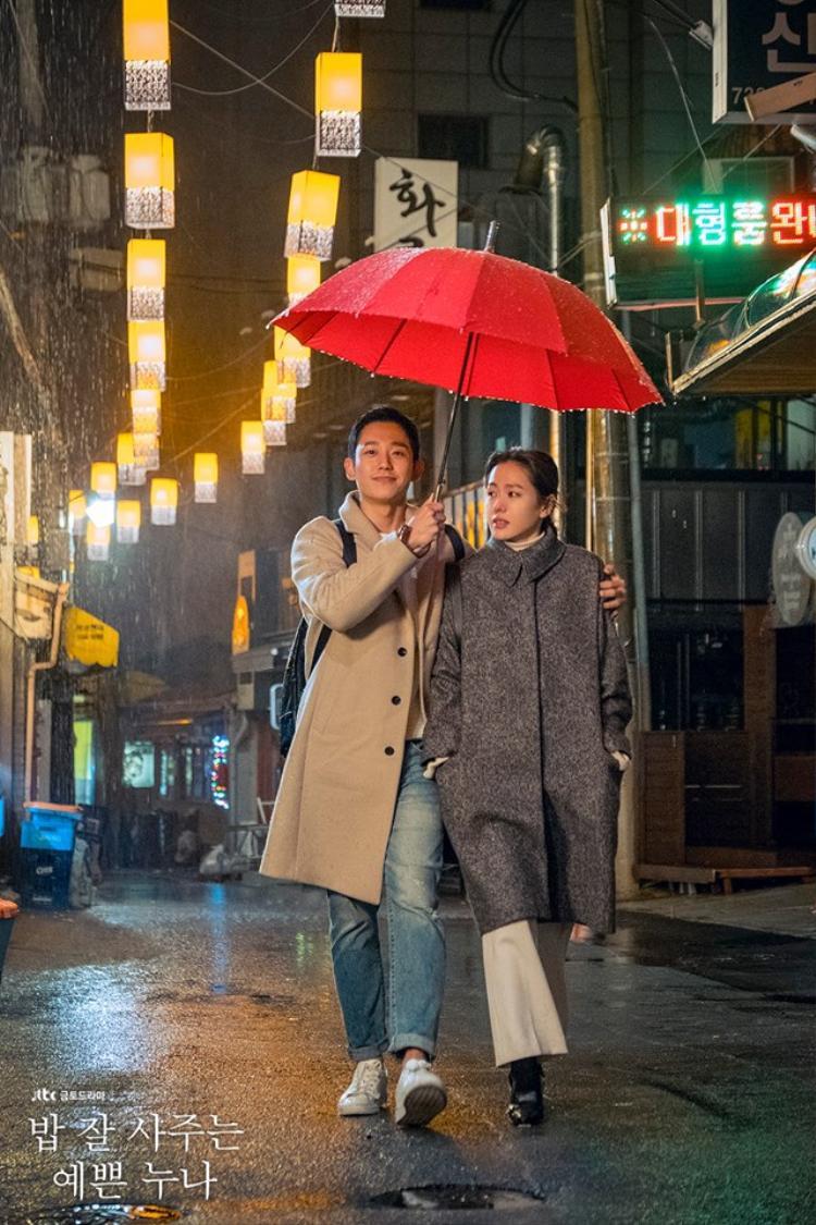 """Và cuối cùng, không thể bỏ qua được drama tình cảm lãng mạn """"Chị đẹp mua cơm ngon cho tôi"""" đài JTBC."""